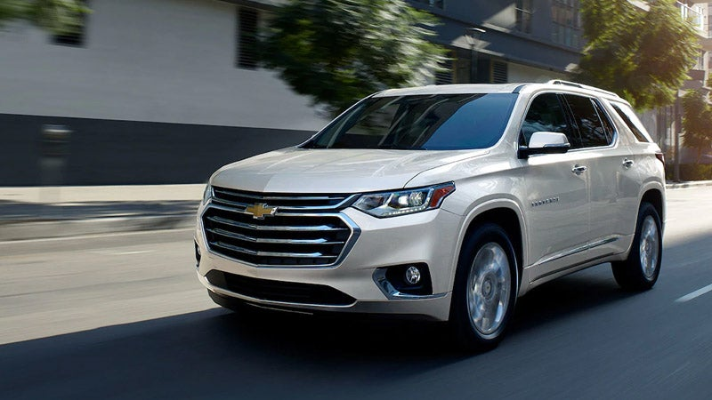 2019 Chevrolet Traverse | Chevrolet Dealership in Fairfax ...